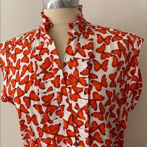 Valentine Gauthier Bunel Hirst Butterfly blouse